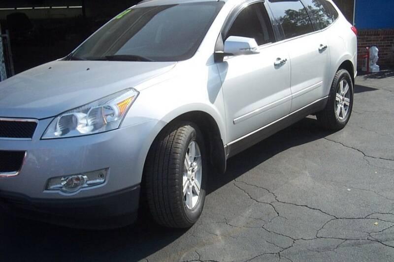 2012 Chevrolet Traverse for sale at BAR Auto Sales in Brockton MA