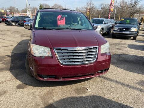 2009 Chrysler Town and Country for sale at Automotive Center in Detroit MI