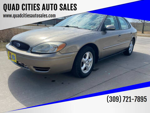 2004 Ford Taurus for sale at QUAD CITIES AUTO SALES in Milan IL