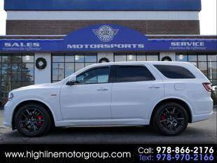2018 Dodge Durango for sale at Highline Group Motorsports in Lowell MA