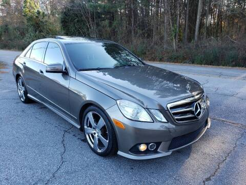 2010 Mercedes-Benz E-Class for sale at GA Auto IMPORTS  LLC in Buford GA