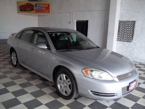 2012 Chevrolet Impala for sale at Schalk Auto Inc in Albion NE