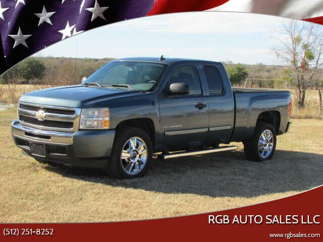 2010 Chevrolet Silverado 1500 for sale at RGB AUTO SALES LLC in Manor TX