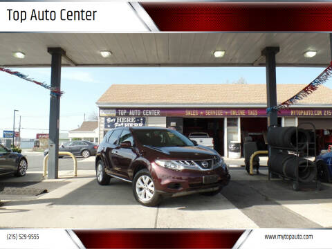 2014 Nissan Murano for sale at Top Auto Center in Quakertown PA