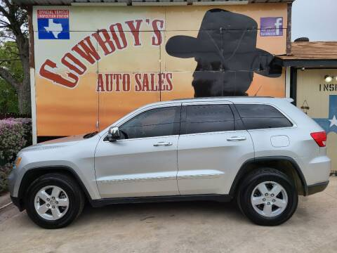 2013 Jeep Grand Cherokee for sale at Cowboy's Auto Sales in San Antonio TX