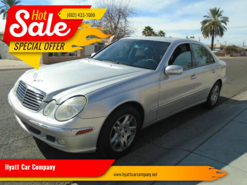 2005 Mercedes-Benz E-Class for sale at Hyatt Car Company in Phoenix AZ