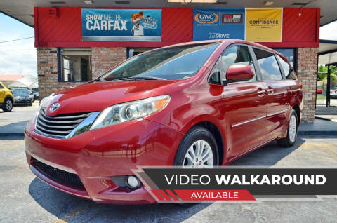 2011 Toyota Sienna for sale at ALWAYSSOLD123 INC in North Miami Beach FL