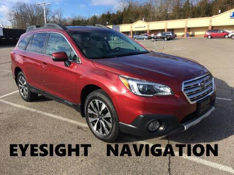 2017 Subaru Outback for sale at Borderline Auto Sales in Loveland OH