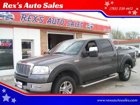2005 Ford F-150 for sale at Rex's Auto Sales in Junction City KS