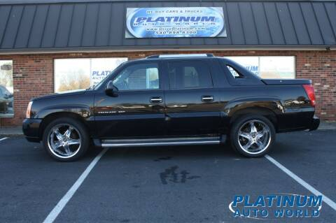 2002 Cadillac Escalade EXT for sale at Platinum Auto World in Fredericksburg VA