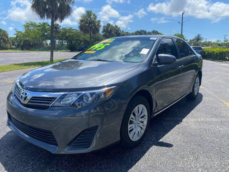 2012 Toyota Camry for sale at Lamberti Auto Collection in Plantation FL