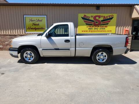 2004 Chevrolet Silverado 1500 for sale at BIG 'S' AUTO & TRACTOR SALES in Blanchard OK