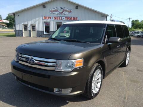 2011 Ford Flex for sale at Steves Auto Sales in Cambridge MN