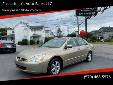 2005 Honda Accord for sale at Passariello's Auto Sales LLC in Old Forge PA
