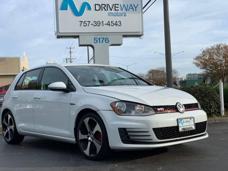 2017 Volkswagen Golf GTI for sale at Driveway Motors in Virginia Beach VA