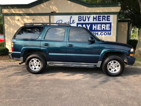 2005 Chevrolet Tahoe for sale at Boyle Buy Here Pay Here in Sumter SC