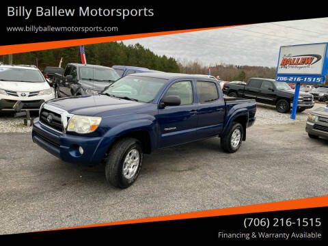 2008 Toyota Tacoma for sale at Billy Ballew Motorsports in Dawsonville GA
