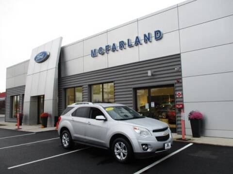 2013 Chevrolet Equinox for sale at MC FARLAND FORD in Exeter NH
