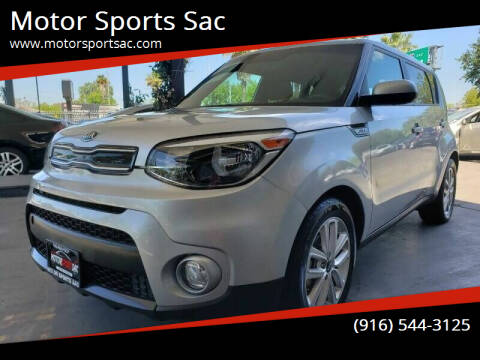 2017 Kia Soul for sale at Motor Sports Sac in Sacramento CA