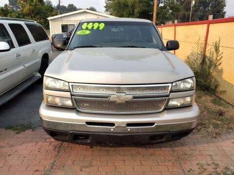 2006 Chevrolet Silverado 1500 for sale at Marvelous Motors in Garden City ID
