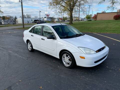 2002 Ford Focus for sale at Dittmar Auto Dealer LLC in Dayton OH