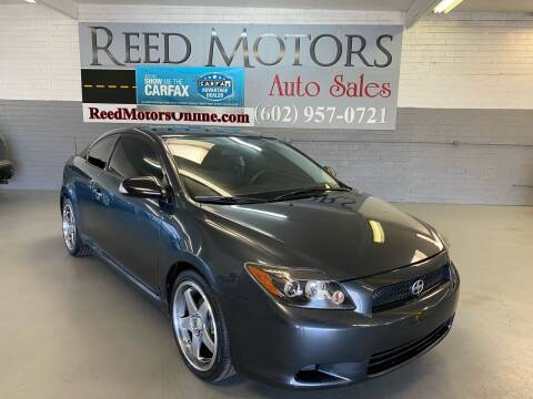 2008 Scion tC for sale at REED MOTORS LLC in Phoenix AZ