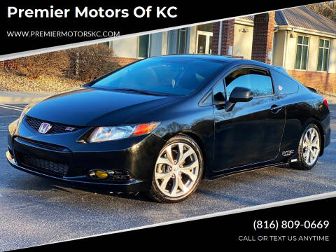 2012 Honda Civic for sale at Premier Motors of KC in Kansas City MO
