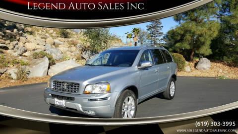 2013 Volvo XC90 for sale at Legend Auto Sales Inc in Lemon Grove CA