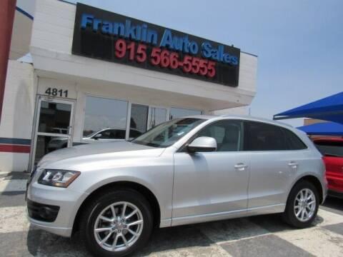 2010 Audi Q5 for sale at Franklin Auto Sales in El Paso TX