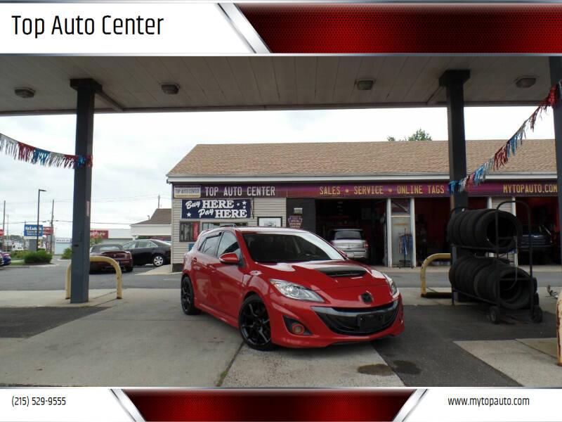 2012 Mazda MAZDASPEED3 for sale at Top Auto Center in Quakertown PA
