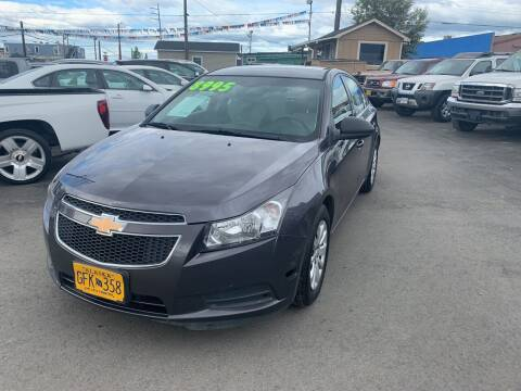 2011 Chevrolet Cruze for sale at ALASKA PROFESSIONAL AUTO in Anchorage AK