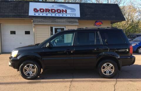 2004 Honda Pilot for sale at Gordon Auto Sales LLC in Sioux City IA