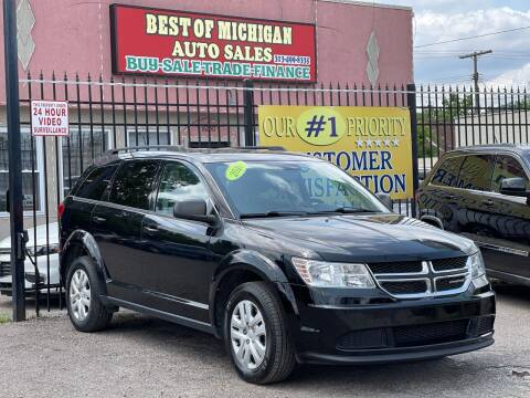 2016 Dodge Journey for sale at Best of Michigan Auto Sales in Detroit MI