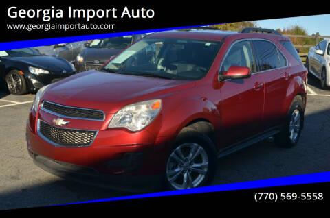 2011 Chevrolet Equinox for sale at Georgia Import Auto in Alpharetta GA