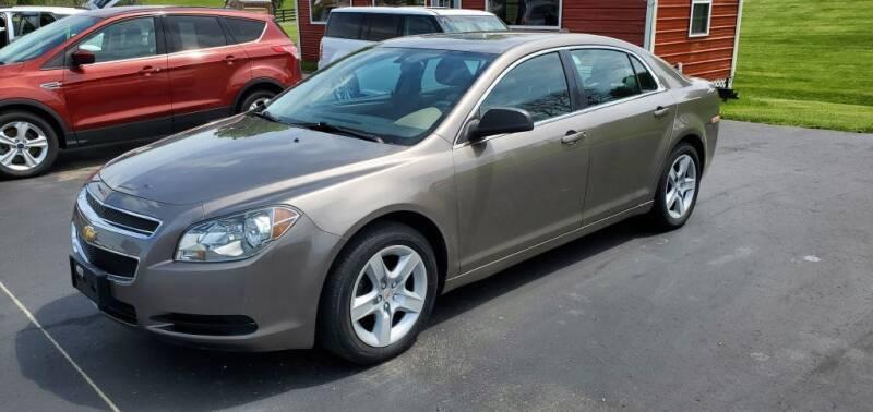 2012 Chevrolet Malibu for sale at Gallia Auto Sales in Bidwell OH