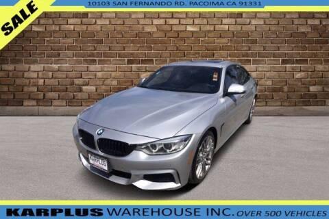 2015 BMW 4 Series for sale at Karplus Warehouse in Pacoima CA