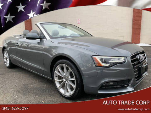 2013 Audi A5 for sale at AUTO TRADE CORP in Nanuet NY