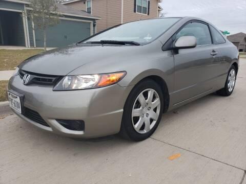2006 Honda Civic for sale at ZNM Motors in Irving TX