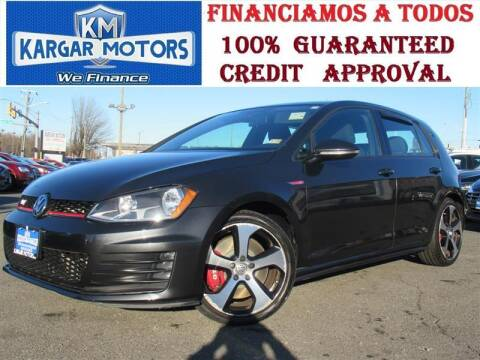 2016 Volkswagen Golf GTI for sale at Kargar Motors of Manassas in Manassas VA