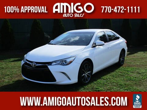 2016 Toyota Camry for sale at Amigo Auto Sales in Marietta GA