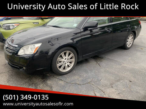 2007 Toyota Avalon for sale at University Auto Sales of Little Rock in Little Rock AR