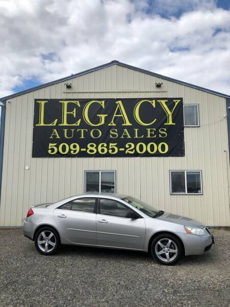 2007 Pontiac G6 for sale at Legacy Auto Sales in Toppenish WA