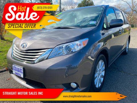 2013 Toyota Sienna for sale at STRAIGHT MOTOR SALES INC in Paterson NJ