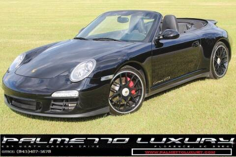 2012 Porsche 911 for sale at Palmetto Luxury Cars in Florence SC