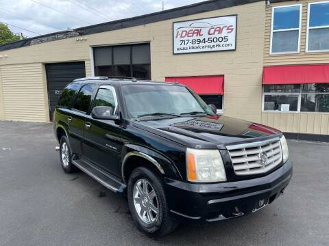 2004 Cadillac Escalade for sale at I-Deal Cars LLC in York PA