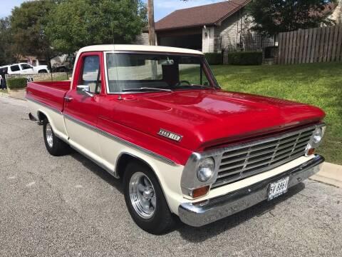 1967 Ford F-100 for sale at Mafia Motors in Boerne TX