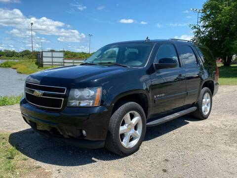 2008 Chevrolet Tahoe for sale at TINKER MOTOR COMPANY in Indianola OK