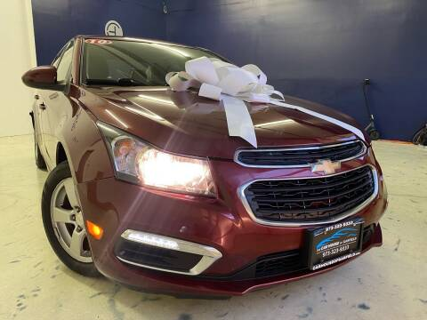 2016 Chevrolet Cruze Limited for sale at The Car House of Garfield in Garfield NJ