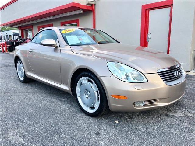 2002 Lexus SC 430 for sale at Richardson Sales & Service in Highland IN