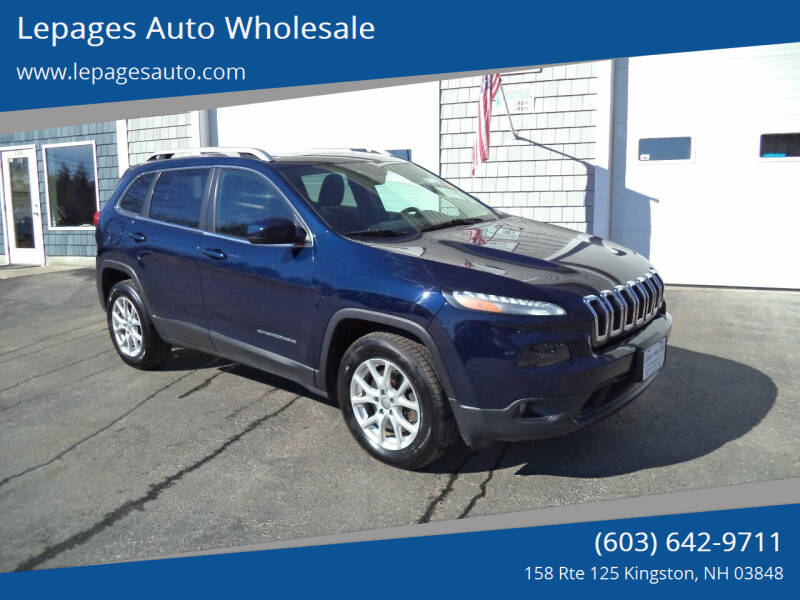 2014 Jeep Cherokee for sale at Lepages Auto Wholesale in Kingston NH